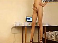 sexy crossdresser heels tease watch live at crossdressers.online