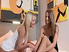 Lesbian babes having rough sex