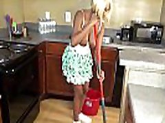 Sheisnovember Topless Mopping In Kitchen & Upskirt Ebony Ass & bad uncle sex vedios Natural Tits
