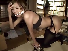 Incredible homemade Stockings, BDSM xxx scene