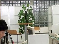 Hottest Japanese model Nanako Hirai in Exotic Office, BlowjobFera JAV movie