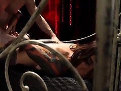Ripping clothes off rough sex and farm bondage Excited
