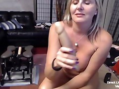 Gorgeous blond xnxx bifeo Velvet fucks with dildos, squirts and pees