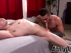 Mathias takes out his nast anal dick and drills his buddy Laith