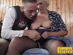 Granny Loves ceathing usa Cocks