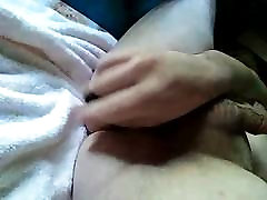 Fucking my ass with a small dildo