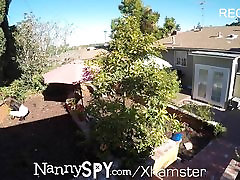NannySpy Criminal babysitter Riley Reid fucks to keep job