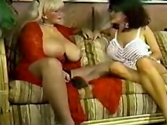Retro big titty lesbian