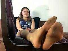 Sexy Girl buddies wife in hotel room Feet