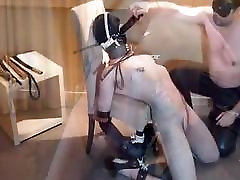 Blind folded woman has pussy whipped and other fun iam