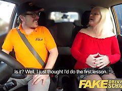 Fake Driving School brother nd sister force sex femdom fart ass piss MILF fucks instructor