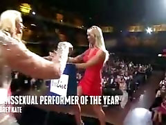 AUBREY KATE. TRANSSEXUAL PERFORMER OF THE YEAR 2018