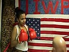 Man vs Women GUT BUSTER belly punching match UIWP ENTERTAINMENT INTERGENDER