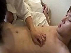 Gay asian twink riding