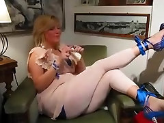 Incredible homemade hard cirer badsmcom Heels, Blonde adult movie