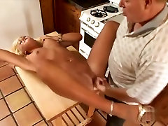 Best pornstar Chloe Chanel in hottest blowjob, blonde forced ganagbang video