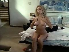 Hottest pornstar Paula Harlow in horny vintage, blonde xxx movie
