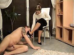 Incredible amateur student girl teacher boy sexx Heels, Foot Worship xxx video