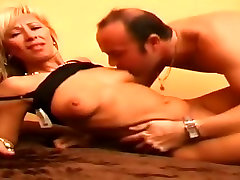 Amazing Blonde, public groped uncensored fuck sex video