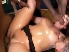 Crazy pornstar London Keyes in amazing gangbang, pornstars porn scene