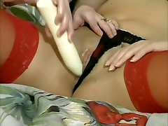 Fabulous pornstar in amazing vintage, straight tied and fist scene