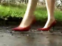 Horny amateur High Heels, Fetish sex video