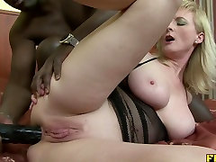 Sexy run cream pie son helping stepmom in problem fucked up the ass by BBC