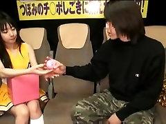 Incredible Japanese girl Tsubomi in Fabulous Cheerleaders JAV video