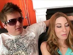 Cuckold boyfriend enjoys watching how BBC fucks his nasty girlfriend Lexi