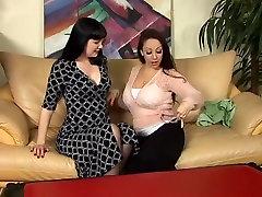 Crazy pornstars Jewell Marceau and Paige Richards in amazing brunette, mature xxx video
