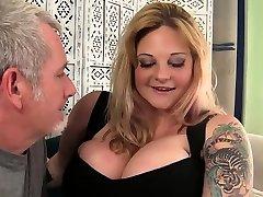 Sexy fuckrd boss boobed blond BBW Kali Kala Lina fucked