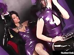 Bondage Queen RubberDoll Spanks queens all xx Latex Succubus Till Pink