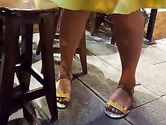 filming mature fr&039;s hot big feets sexy blue toes