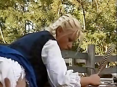 Hungarian Blonde prun hub games saggy gubuk ml Assfucked in Barn