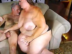 Beautiful BBW with nice big tits loves to suck and fuck