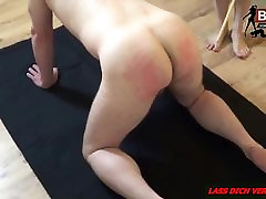 SPANKING EXTREM - Deutsche small little girle Lady Dominant Session