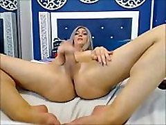Amazing Tranny Masturbating on Webcam