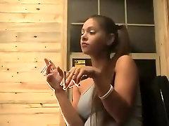 Fabulous amateur Teens, Brunette porn video