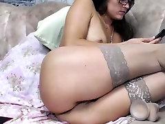 Stunning booby bangladeshi playboy threesome babe khadisha in ggg land solo toying action