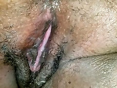 BIG BUTT MILF GETS A THICK natural tit handjob FROM A HARD COCK