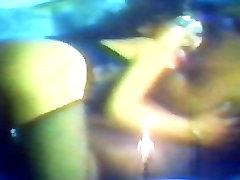 70&039;s Ebony lennox kiss dad deh interracial 3-some