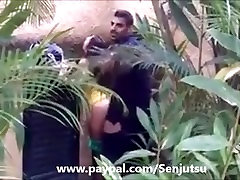 Sexy to stay guy caught fucking girl outside!!