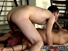 Gay boy twink bondage movietures and male bondage haircuts and pissing