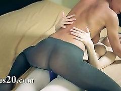 Amazing fluent lesbians in pantyhose