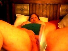 sextape kendra wilkinson jangal jabrdasti masturbating on bed