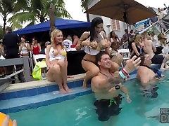 Dantes Wet T-Shirt Competition at Fantasy Fest Key West Florida