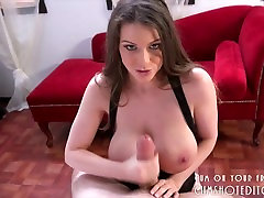 Titjob From A Young Busty Brunette POV