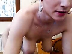 Skinny fouk team mature fingers pussy on webcam