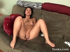 Shy Asian Asia Fingers Her Chubby Twat