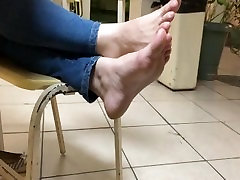 Candid School feet 3